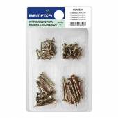 Multipurpose Kit With Screws for Chipboard and MDF