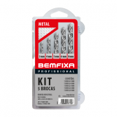 Kit de 5 Brocas para Metal