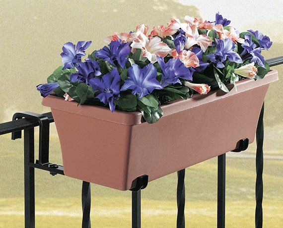 Planter Holder with Fixed Arm